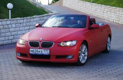 BMW 325 red